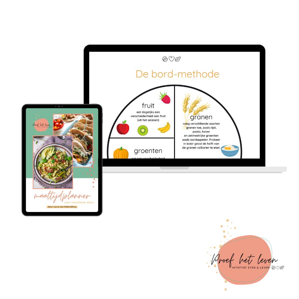 Maaltijdplanning gids voor intuïtieve eters